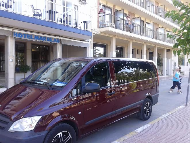 5 6 7 8 Seater Taxi Transfer From Benidorm To Alicante Airport
