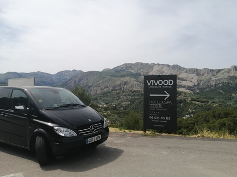 Taxi from Alicante Airport to Vivood Landscape & spa only adults hotel.