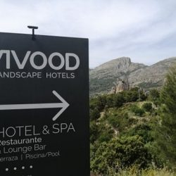 Taxi from Alicante airport to Vivood Landscape Hotel. Transfer to Benimantell